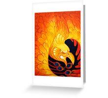 Phoenix for Flint Greeting Card