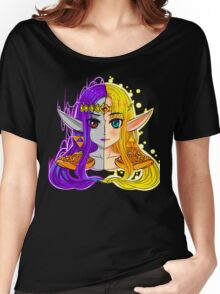 Link Between Two Princesses  Women's Relaxed Fit T-Shirt
