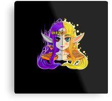 Link Between Two Princesses  Metal Print