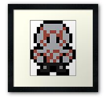 Pixel Drax Framed Print