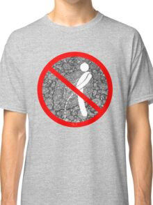 do not pee on the Dude's rug Classic T-Shirt