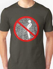 do not pee on the Dude's rug Unisex T-Shirt