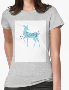 Always- Deathly Hallows- RIP Alan Rickman Womens Fitted T-Shirt