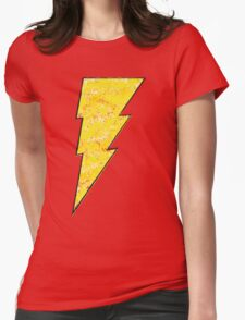 Shazam - DC Spray Paint Womens Fitted T-Shirt