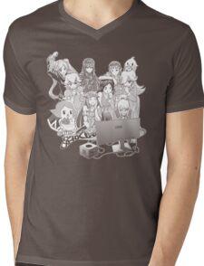 Smash Night Mens V-Neck T-Shirt