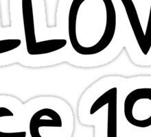 GILLOVNY since 1993. Sticker
