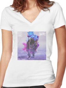Future DS2 Cover  Women's Fitted V-Neck T-Shirt