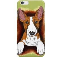 Tricolour English Bull Terrier  iPhone Case/Skin