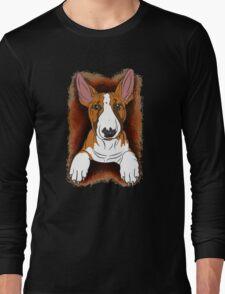 Tricolour English Bull Terrier  Long Sleeve T-Shirt