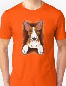 Tricolour English Bull Terrier  Unisex T-Shirt