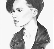 Ruby Rose by Neil Blue