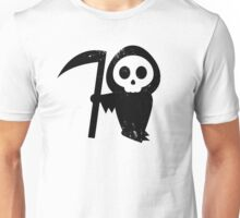 Cute Grim Reaper (black) Unisex T-Shirt