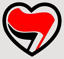Hei! Antifa heart! by EnjoyRiot