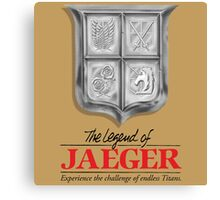 Legend of jaeger  Canvas Print