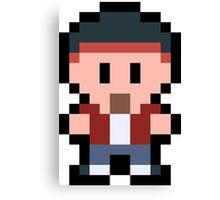 Pixel Jesse Pinkman Canvas Print