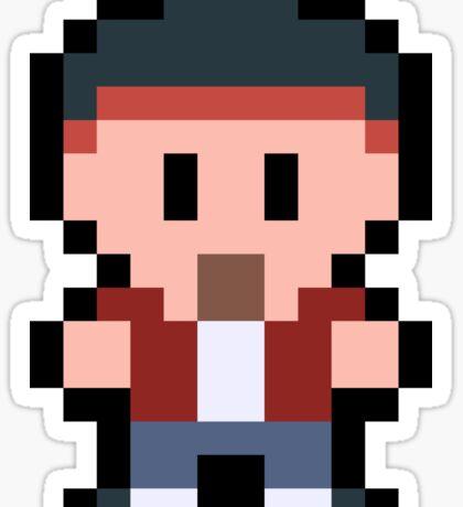 Pixel Jesse Pinkman Sticker