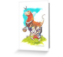 Unlikely Friends III Greeting Card