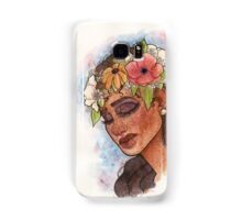 Flower Crown Samsung Galaxy Case/Skin