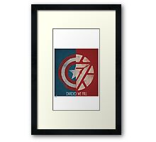 Divided we fall Framed Print