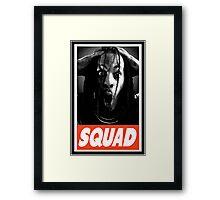 Squad Framed Print