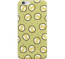 Kawaii Pixel Sunny Side Up Eggs iPhone Case/Skin