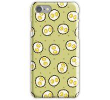 Kawaii Pixel Sunny Side Up Eggs iPhone Case/Skin