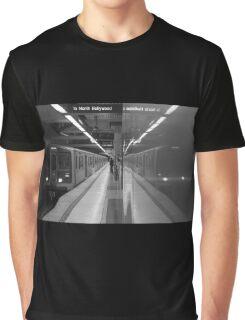 Subway Station Graphic T-Shirt