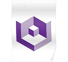 Block Purple Poster