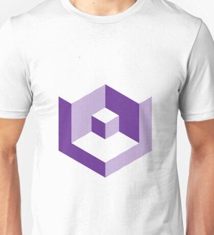 Block Purple Unisex T-Shirt