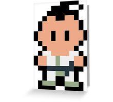 Pixel Poo Greeting Card