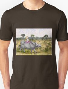 Onward, or We'll Be Late for Tea Unisex T-Shirt