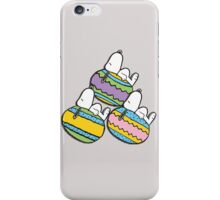 3 Egg Snoopy iPhone Case/Skin