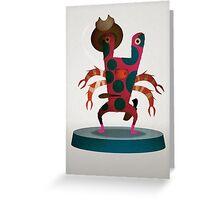 Larry Monster Greeting Card