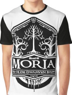 Mead Of Moria, Ye Olde Dwarven Brew Graphic T-Shirt