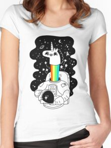 See You In Space! Women's Fitted Scoop T-Shirt