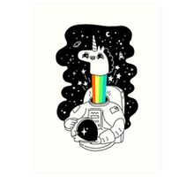 See You In Space! Art Print