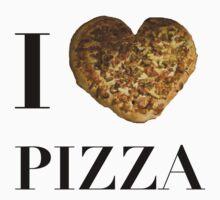 I Love Pizza Baby Tee