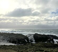 Stormy sea - Isle of Man by chess101