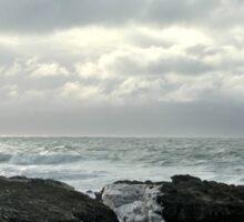 Stormy sea - Isle of Man Sticker