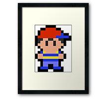 Pixel Ninten Framed Print