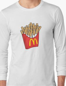 Mcdonalds Cigarettes Long Sleeve T-Shirt