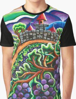 Wine Retreat Graphic T-Shirt