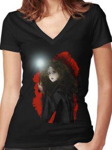 Hermione Granger Women's Fitted V-Neck T-Shirt