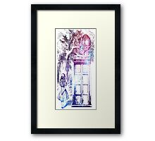 Alice In Wonderland with box Framed Print