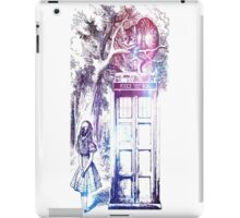 Alice In Wonderland with box iPad Case/Skin