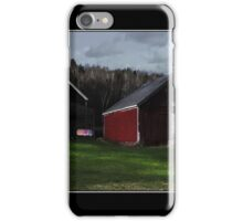 Sundown Wash Line in Jefferson Poster iPhone Case/Skin
