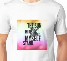The Sun Persists Unisex T-Shirt