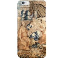 Birth of the Virgin Mary Aubusson Tappeti Tapestry tapestry 18th century Marie Born iPhone Case/Skin