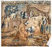 Birth of the Virgin Mary Aubusson Tappeti Tapestry tapestry 18th century Marie Born Poster