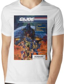 G.I. Joe Mens V-Neck T-Shirt